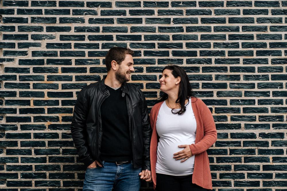 Schwangerschaftsshooting in SSW 33