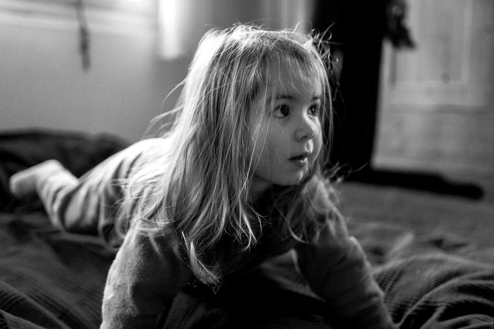 Familienfotografie zu Hause