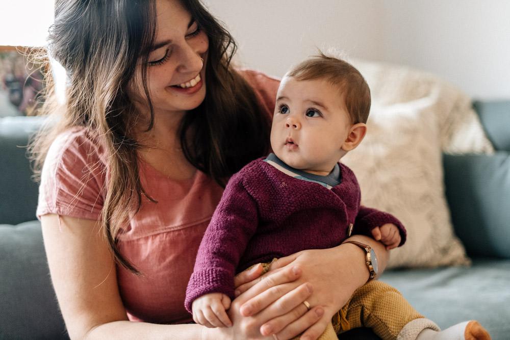 Mama und Tochter - Babyfotografie, Familienfotografie